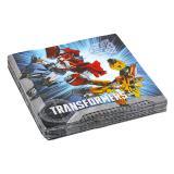 """20 serviettes """"Transformers"""""""