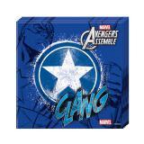 "20 serviettes ""Ultimative Avengers - Captain America"""