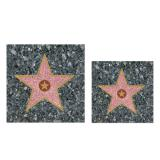 "16 serviettes ""Walk of Fame"""