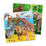 "20 serviettes ""My Safari Party"""