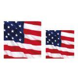 """16 serviettes """"Drapeau américain"""""""