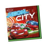"20 serviettes ""Cars Neon City"""