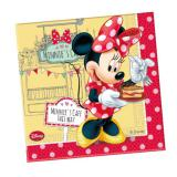 "20 serviettes ""Le Café de Minnie"""
