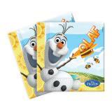"20 serviettes ""Olaf au paradis"""