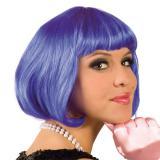 Perruque Sexy Bob - bleu