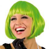 Perruque Sexy Bob - vert fluo