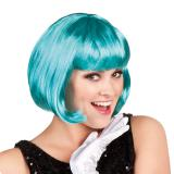 Perruque Sexy Bob - turquoise