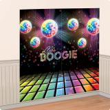 """Déco murale """"Disco Fever"""" 82,5 x 165 cm 2 pcs."""