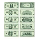 "100 billets factices ""Dollars"""