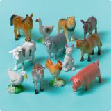 Jouets animaux de la ferme 12 pcs