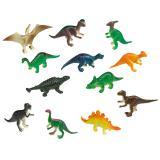 """8 jouets figurines """"Attaque de dinosaures"""""""