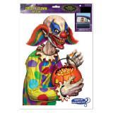 """Sticker statique """"Méchant clown"""""""