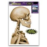 """Autocollant statique """"Squelette"""""""