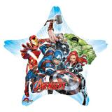 """Ballon en aluminium en forme d'étoile """"Avengers"""" 81 cm"""