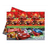 "Nappe ""Cars Neon City"" 120 x 180 cm"