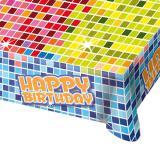 "Nappe ""Happy Crazy Birthday"" 180 x 130 cm"