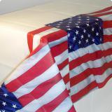 """Nappe """"USA"""" 137 x 259 cm"""