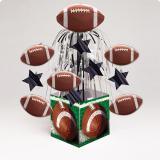 "Déco de table ""Fou de football américain"" 31 cm"