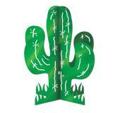 """Déco de table """"Cactus vert"""" 28 cm"""