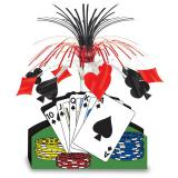 """Déco de table """"Poker in Las Vegas"""" 33 cm"""