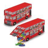 "Déco de table ""Bus de touristes anglais"" 23 cm"