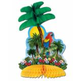 "Déco de table ""Île tropicale"" 30 cm"
