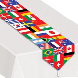 "Chemin de table ""International"" 180 cm"