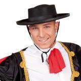 """Chapeau de torero noir """"Flamenco Olé"""""""