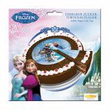 """Disque pour gâteau """"La reine des neiges"""" 16 cm"""