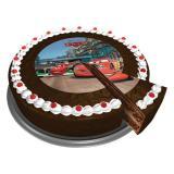 """Disque pour gâteau """"Disney Pixar Cars"""" 16 cm"""