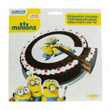 """Disque pour gâteau """"Minions"""" 16 cm"""