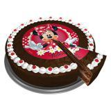 """Disque pour gâteau """"Minnie Mouse"""" 16 cm"""