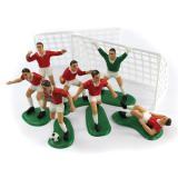 """Figurines pour gâteau """"Les folies du football"""" 9 pcs."""