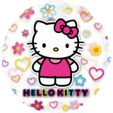 "Ballon en aluminium transparent ""Hello Kitty"" 66 cm"