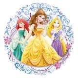 """Ballon XL en aluminium transparent """"Princesses Disney""""  66 cm"""