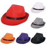 Chapeau Trilby avec ruban noir