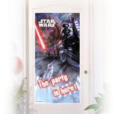 """Déco de porte """"Ultimative Star Wars"""" 76 x 152 cm"""