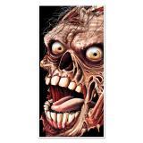 """Déco de porte """"Zombie"""" 76 x 152 cm"""