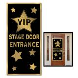 "Déco de porte ""VIP Stage Door Entrance"" 76 x 152 cm"