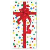 """Déco de table """"Cadeau d'anniversaire"""" 76 x 152 cm"""