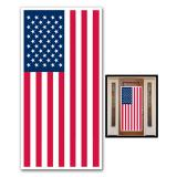 """Déco de porte """"Drapeau USA"""" 76 x 152 cm"""
