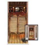 """Déco de porte """"Western saloon"""" 152 cm"""