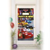 """Déco de porte """"Disney Cars Neon City"""" 76 x 152 cm"""