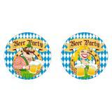 """10 dessous-de-verre Fête de la bière """"Beer party"""""""