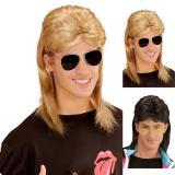 """Perruque """"Crazy 80's"""" avec lunettes"""