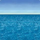 """Déco murale """"En haute mer"""" 1,2 x 9,1 m"""