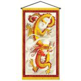 "Déco de salle ""Dragon chinois Deluxe"" 152 cm"