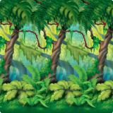 """Déco murale """"Forêt Vierge & jungle"""" 1,2 m x 9,1 m"""