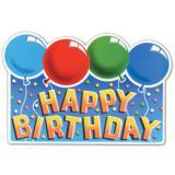 "Déco murale ""Ballons Happy Birthday"""