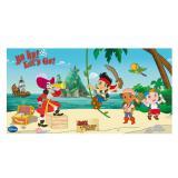 """Déco murale """"Jake & les Pirates du Pays imaginaire"""" 150 cm"""